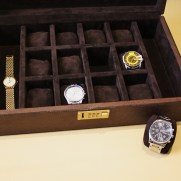 Watch leather and sue box
