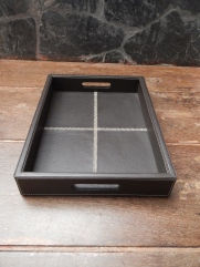 Leather Classic tray